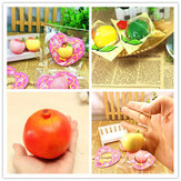 Original Eric Squishy Yellow Peach Green Lemon Pomegranate Slow Rising Original Packaging Collection Toy
