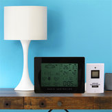 Original LCD Wireless Weather Station Calendar Clock Thermometer Humidity With Backlight