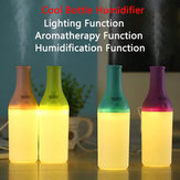 Mini Bottle Delicate Ultrasonic Home Office Aromatherapy USB Lamp LED Humidifier Mist Air Diffuser Purifier