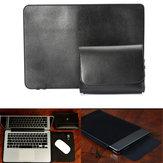 Original Manga de la PU del bolso de la cubierta 13 caja del ordenador portátil de 13.3 pulgadas con una bolsa de aire para el adaptador portátil MacBook Pro Dell XPS