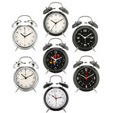 Digoo 4 Inches Twin Bell Clock Series Retro Metal Style Twin Bell Clock Bedroom Decoration
