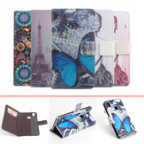 Colorful Painting Pattern Flip Stand Leather Case For DOOGEE X5 Max X5 Max Pro