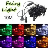 10M 100 LED String Fairy Light Outdoor Christmas Xmas Wedding Party Lamp 220V