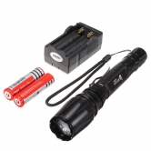 China Wholesale Ultrafire E3 CREE XM-L T6 5 Modes Zoomable LED Flashlight(2*18650)