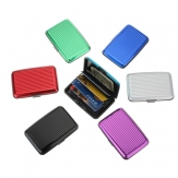 China Wholesale Waterproof Aluminum Metal Business ID Credit Card Wallet Holder case