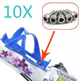 10x Bicycle Cycle Bike Bottle Cage Holder Hexagon Screws Bolts