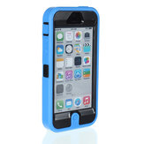 Rubber Heavy Duty Armor Rugged Shockproof Case For iPhone 5C