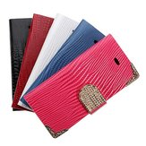 Bling Flip Leather Magnetic Pouch Wallet Case For iPhone 5 5S