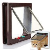 China Wholesale 4 Way Safe Flap Suitable Locking Pet Door for Cat Small Dog