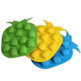 Beautiful Thermal Plastic Rubber Pineapple Shape Ice Cube Cake Mold