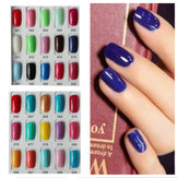 120 Color Nail Art Soak off LED UV Gel Polish 15ML 061-090