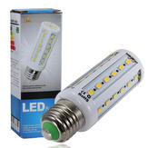 China Wholesale E27 8W 1200LM Warm White 5630 42 SMD LED Corn Light Bulbs 220V