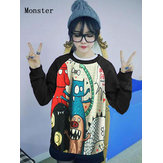China Wholesale Loose Variety Cartoon Cute Hoodie