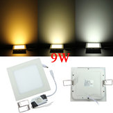 Dimmable Ultrathin 9W LED Ceiling Square Panel Down Light Lamp