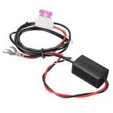 12V Car LED Running Light Relay Harness DRL Controler On/Off Switch