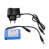 Original DC-168 12V 1800mAh Rechargeable Lithium Battery for CCTV Camera