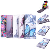 Up-down Colored Drawing Leather Protective Case Cover For Cubot S200