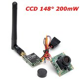 Original Eachine CCD 700tvl 148 Degree Camera Lens w/ 5.8G 200mW FPV Transmitter