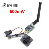 Original Eachine 700tvl 600mW 1/3 Cmos FPV 110/148 Degree Camera w/32CH Transmission