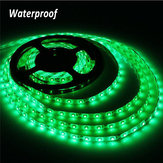 5M Green 300 LEDs SMD 3528 Flexible Led Strip Light Waterproof IP65 DC 12V