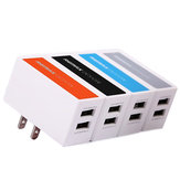 REMAX 2.1A Dual USB Port Charger Adapter US Plug For Cellphone Tablet