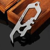 Sanrenmu GJ022D Mini Multi Toolkit Wrench Bottle Opener Keychain