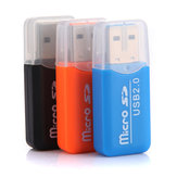 China Wholesale Bolian 2.0 USB All in 1 Card Reader TF Card Memory Stick Card 2G