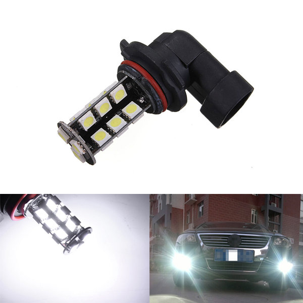 9006 27-LED 5050 SMD Car Auto Xenon White Head Fog Headlight Light Bulb auxmart car led headlight h4 h7 h11 h1 h3 9005 9006 9007 cob led car head bulb light 6500k auto headlamp fog light
