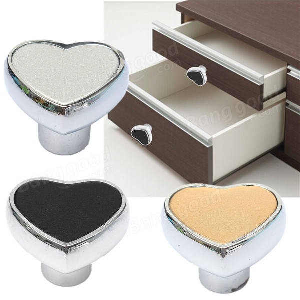 Cute Heart Furniture Knobs Drawer Cabinet