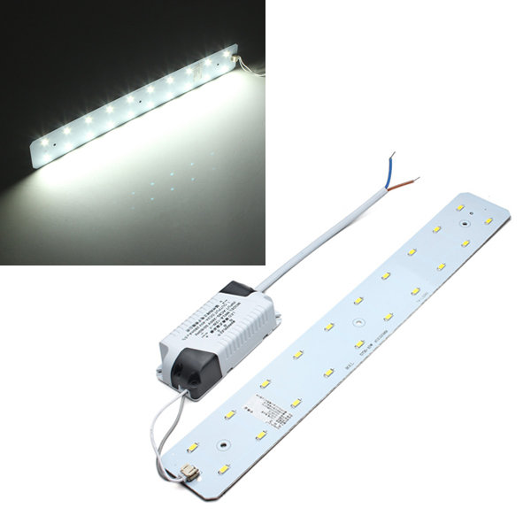 10W White 1200LM DIY LED Ceiling Panel Light Lamp Board + Driver 85-265V black and white round lamp modern led light remote control dimmer ceiling lighting home fixtures