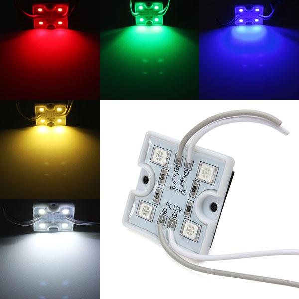 все цены на  1pcs LED Module Waterproof SMD 5050 12V Red/Green/Blue For Billboard  онлайн