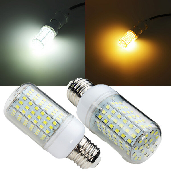E27 126 SMD 2835 15W Warm Whtie/White LED Corn Light 220V e27 15w 1200lm 71 smd 5730 led warm white light lamp white yellow 220v