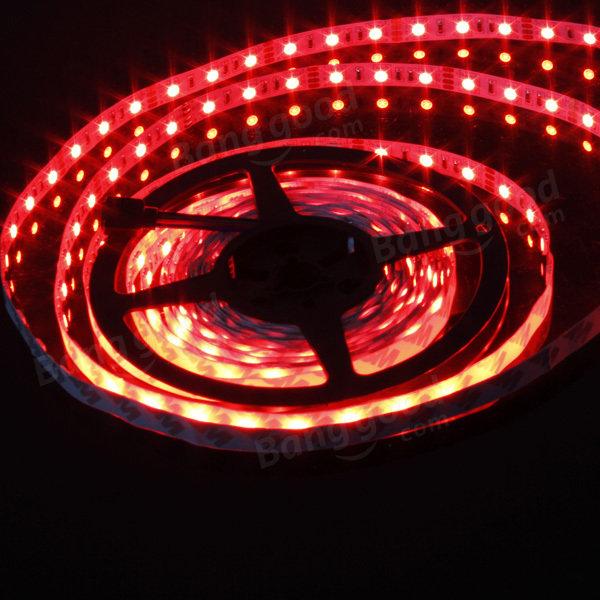 5M RGB 300 LED 5050 SMD Non-Waterproof LED Strip Light 12V DC