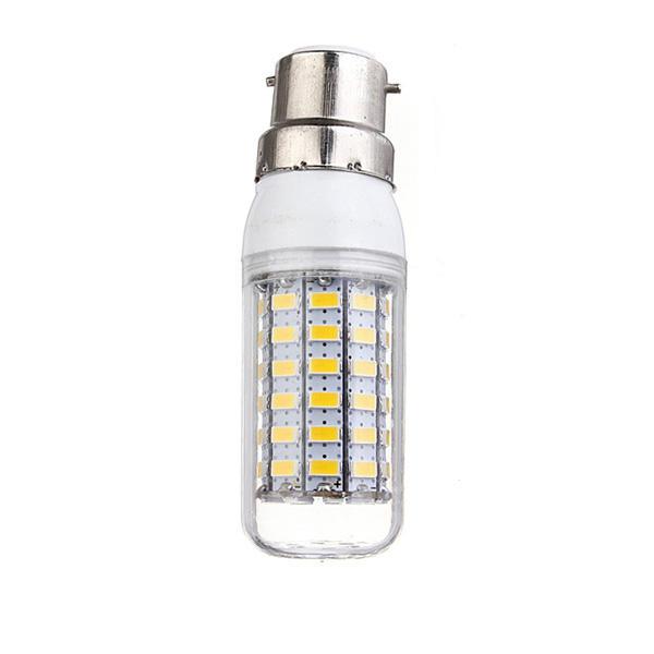 4X B22 7.5W Warm White 5730 SMD 69 LED Corn Light Bulb 220V