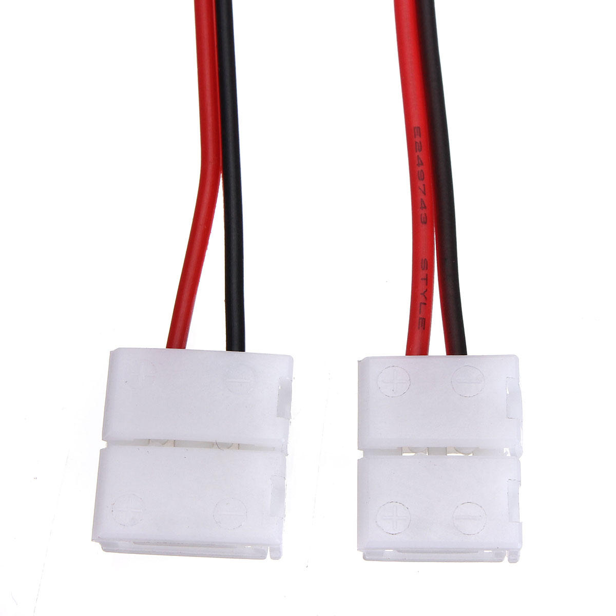 2-Pins Power Connector Adaptor For 3528/5050