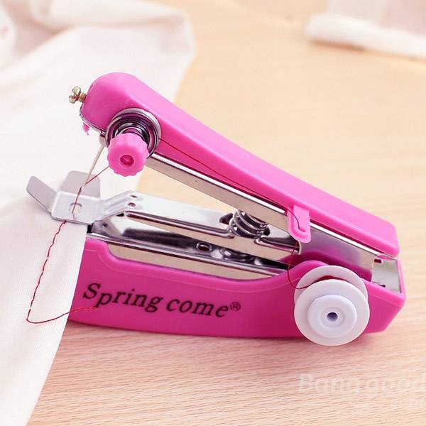 Portable Mini Manual Clothes Sewing Machine