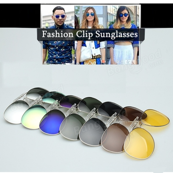 Polarized Sunglasses Clip Sun Glasses Driving