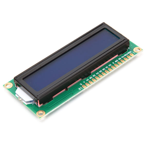 1Pc 1602 Character LCD Display Module Blue Backlight 3pcs 1602 character lcd display module blue backlight