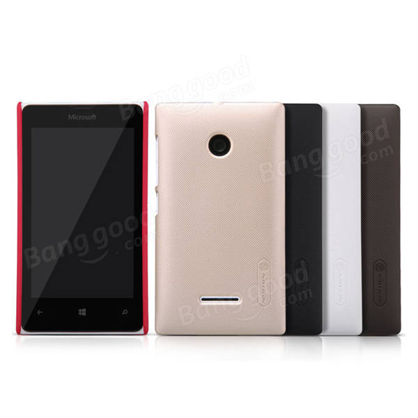NILLKIN Super Frosted Shield Case For Microsoft Lumia 435 аксессуар чехол microsoft lumia 430 dual sim nillkin frosted shield red