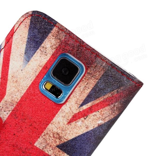 United Kingdom Flag Filp Leather Protective