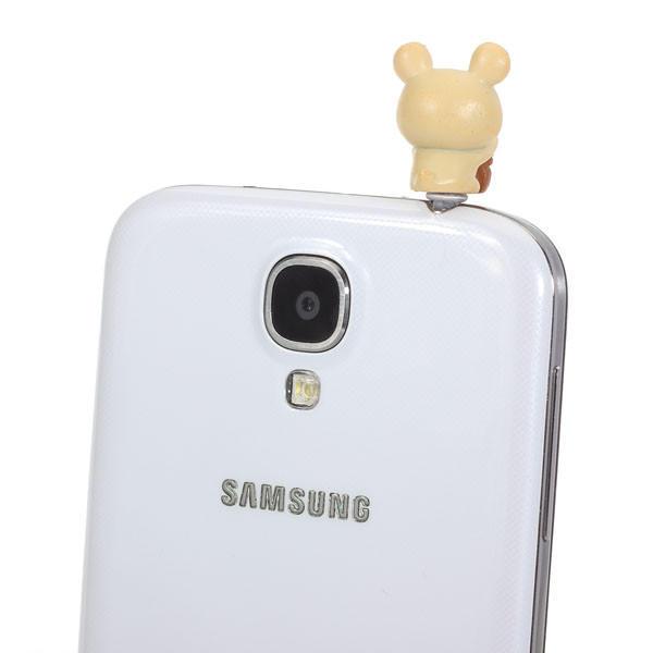 3X3.5mm Bear Dustproof Plug For Mobile