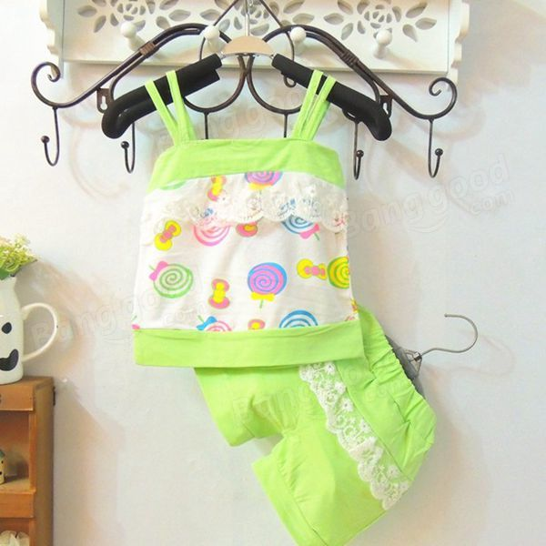 Summer Baby Kid Girl Clothing Outfits