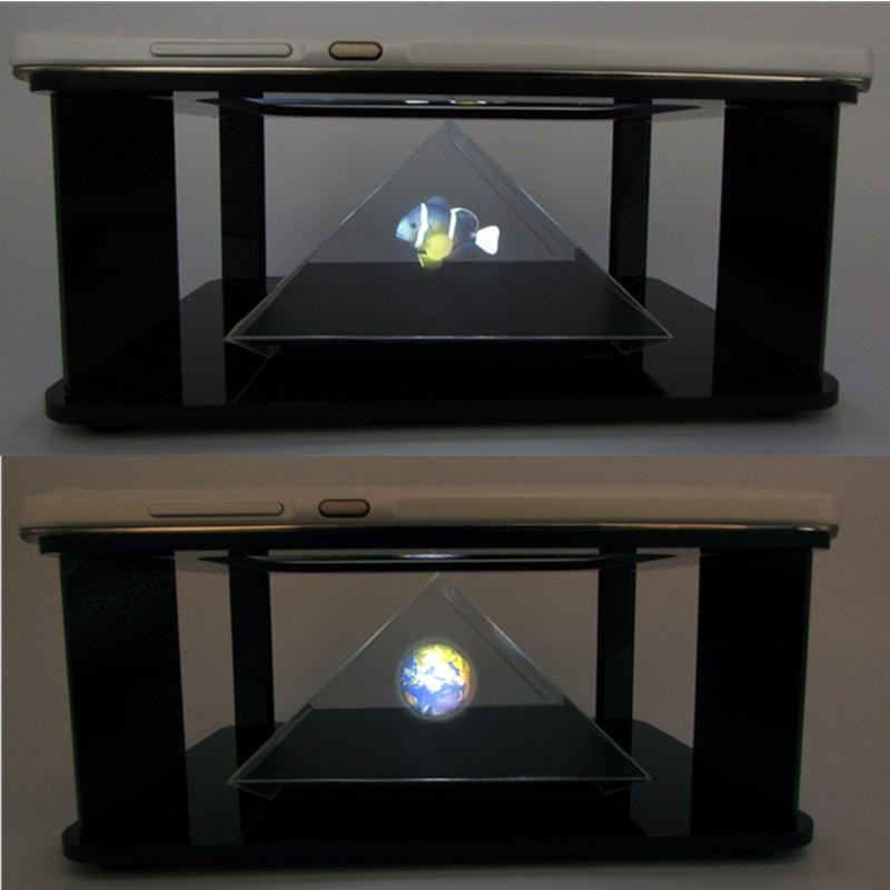 DIY 3D Holographic Projection Pyramid For