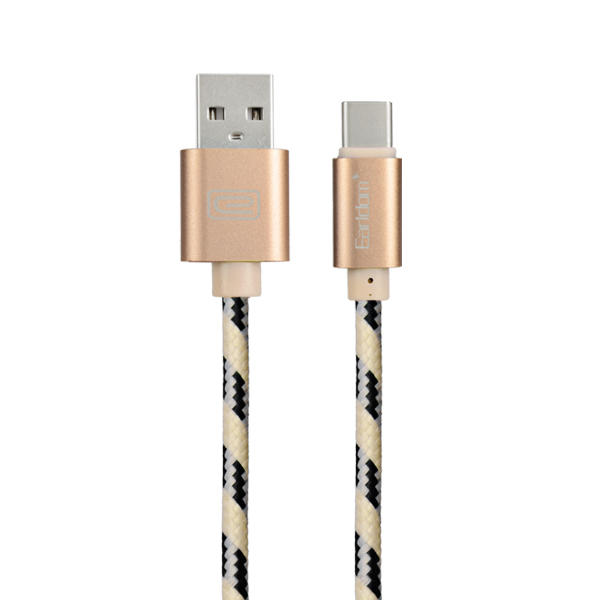 Earldom 1M TYPE-C Nylon Charging Cable