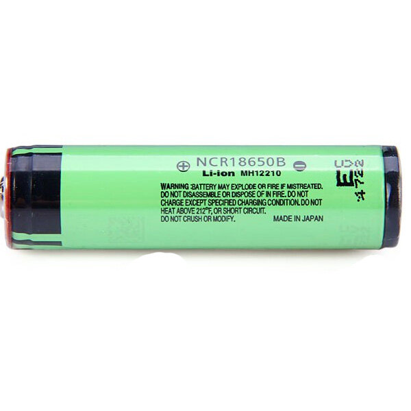 4PCS NCR 18650B 3.7V 3400mAh Protected Rechargeable Lithium Battery