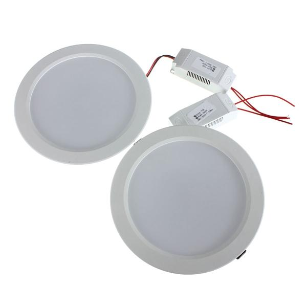 15W Round LED Recessed Ceiling Panel