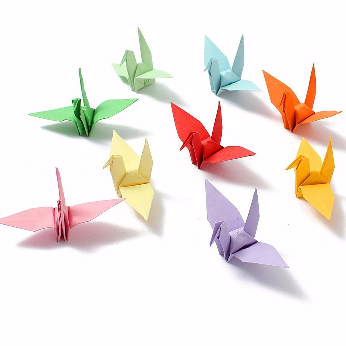 DIY Square Double Sided Origami Folding