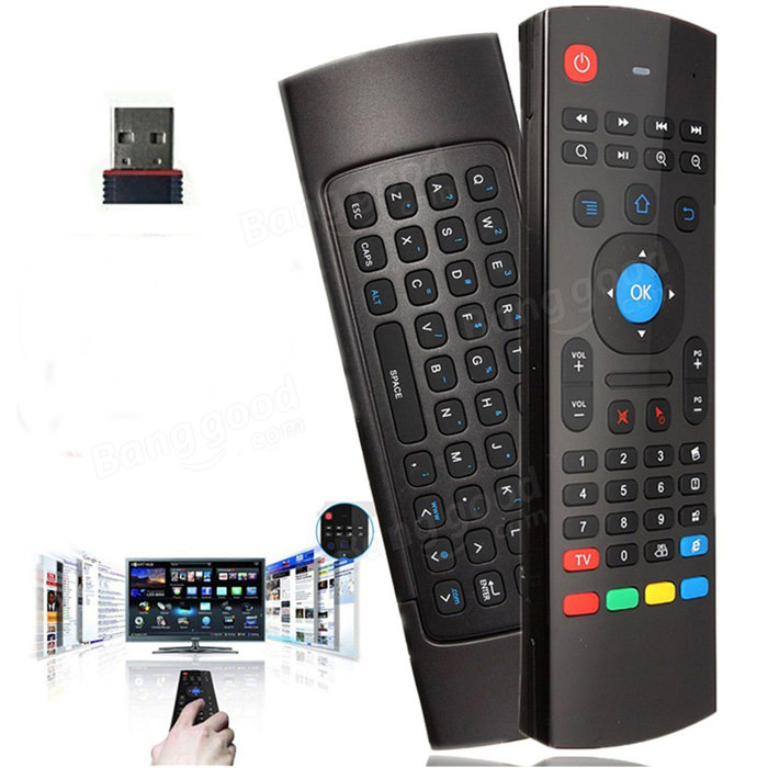 2.4GHz Fly Air Mouse Wireless Keyboard