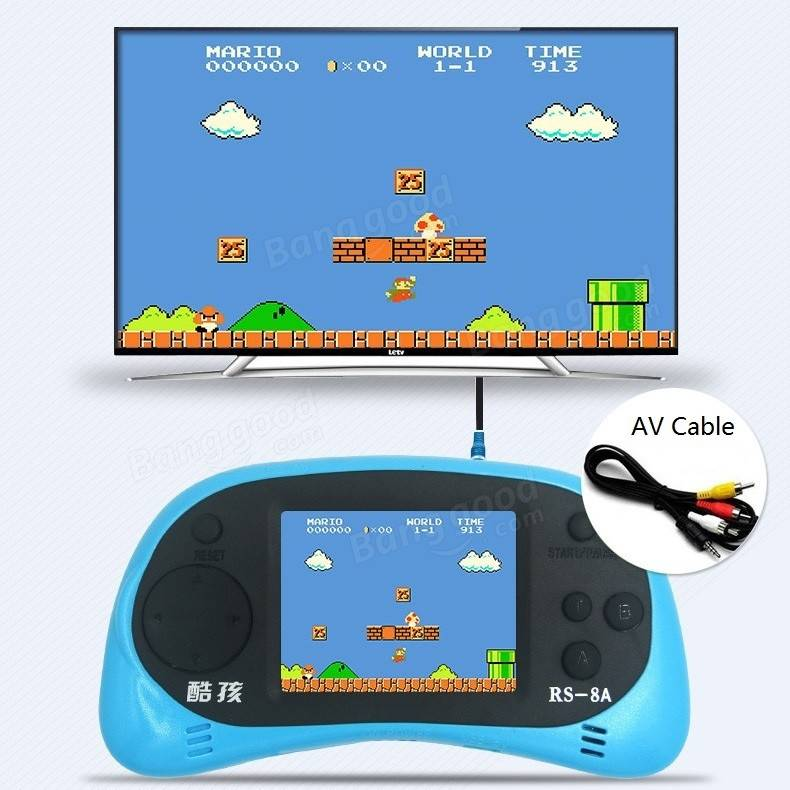 Coolboy RS-8 8Bit 2.5inch Screen Built-in