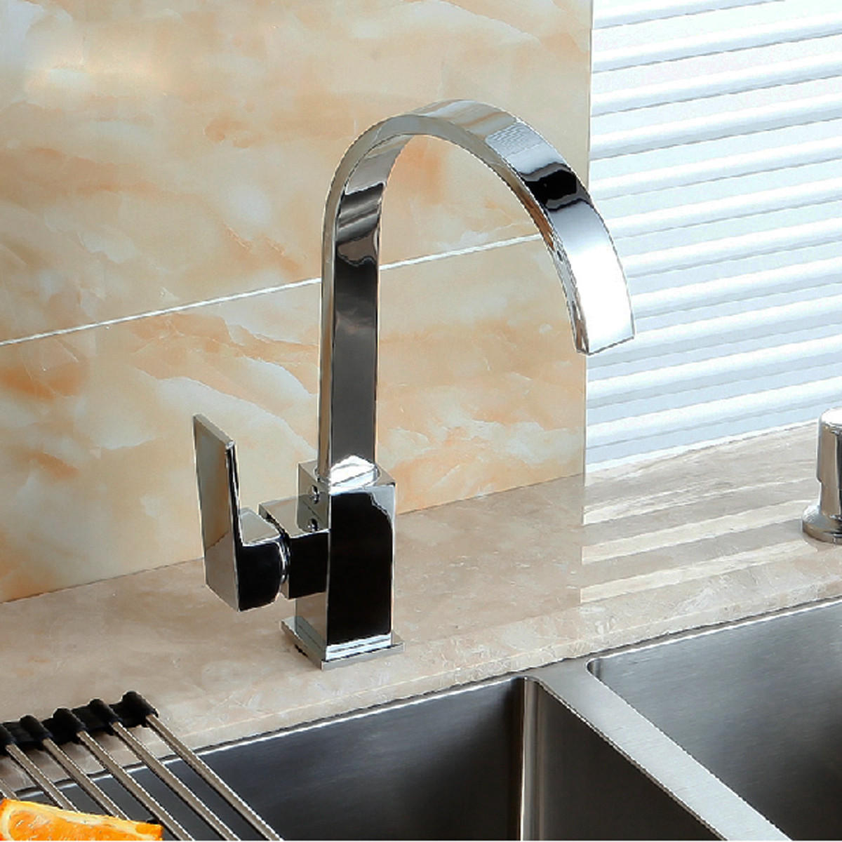 Kitchen Sink Faucet Mixer Tap Swivel